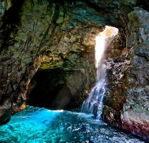 Waiahuakua Sea Cave