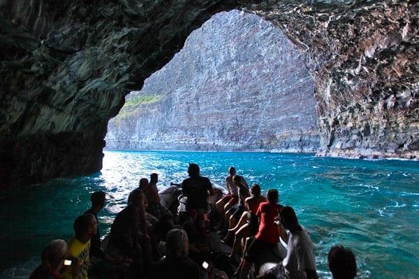 Kauai Sea Cave Boat Tour