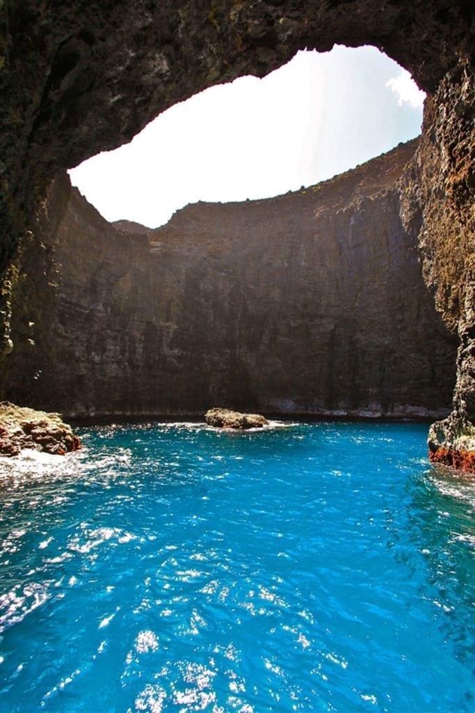 Kauai Boat Tours | Open Ceiling Cave