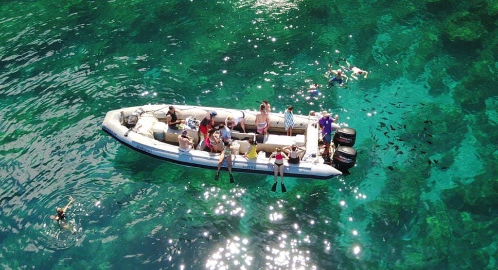 Kauai Boat Tours on the Zodiac Raft