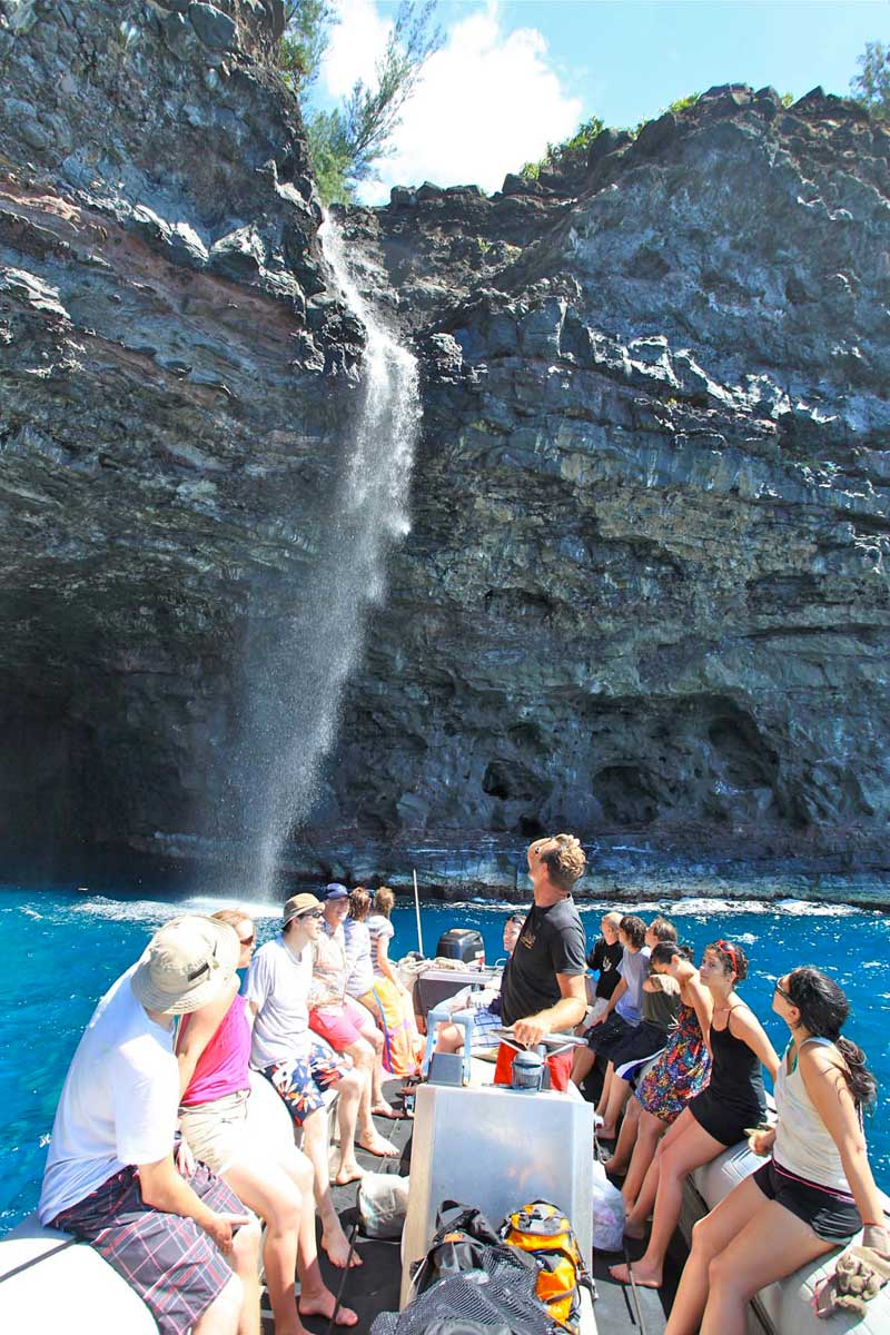 Kauai water rafting